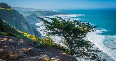 Late Morning at Ragged Point in Big Sur (California)
