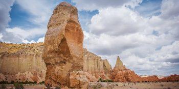 Chimney Rock in Kodachrome (Utah)