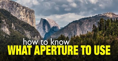 What aperture to use when shooting landscapes?