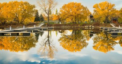 Perfect Fall Reflections (Montreal)