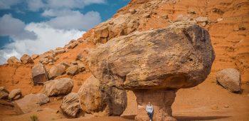 Balanced Rock at Lees Ferry (Arizona)