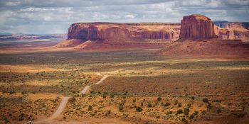 Monument Valley Open View (Arizona)