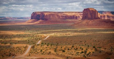 Monument Valley Open View (Arizona)