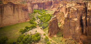 Canyon de Chelly – Sliding House Overlook (Arizona)
