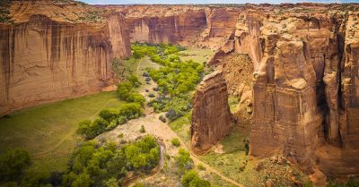 Canyon de Chelly – Sliding House Overlook (Arizona)
