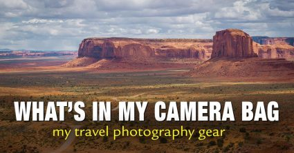 What's In My Camera Bag – My Travel Photography Gear