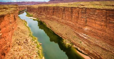Green Waters of the Colorado River (Arizona)