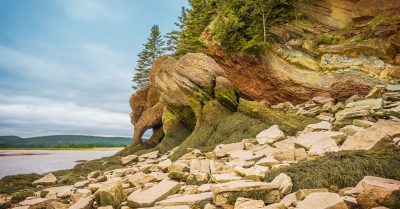 Hopewell Rocks Arch (New Brunswick)