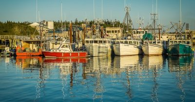Grand Manan Island Sunset Reflections (Canada)