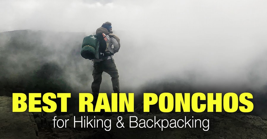 6 Best Rain Ponchos for Hiking and Backpacking