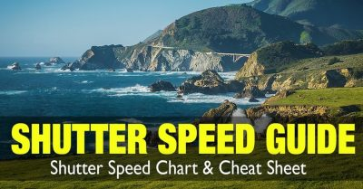 Shutter Speed Guide -Cheat Sheet Included