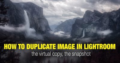 Duplicating Images in Lightroom