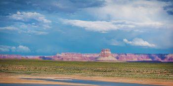 Antelope Island Across Lake Powell (Arizona)