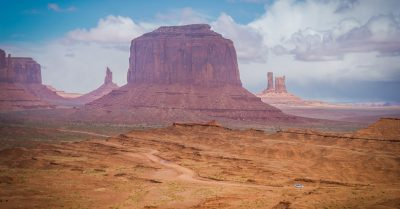 View from John Ford Point in Monument Valley (Arizona)