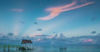 Sunrise Watchers at Cayo Coco Beach (Cuba)