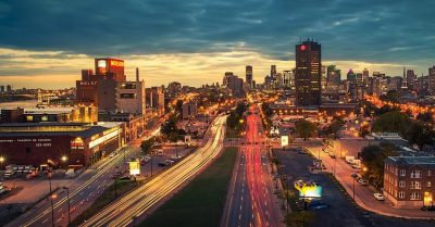 My Most Challenging Photograph of the Year – Montreal City Lights