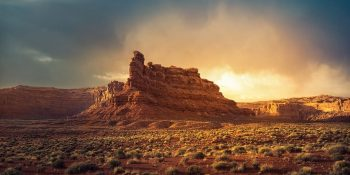 Sunset at Valley of the Gods (Utah)