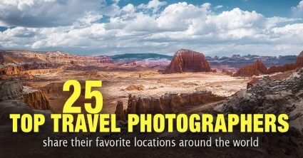 Top 25 Best Travel Photographers Share Their Favorite Locations Around the World
