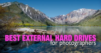 Best External Hard Drives for Travel Photographers