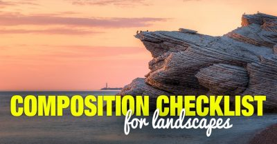 The Composition Checklist for Landscapes