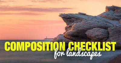 Composition Checklist for Landscapes