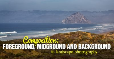 Foreground vs middleground  vs background in photography