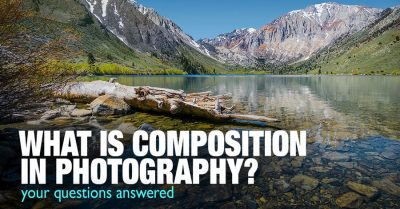 Definition of composition in photography