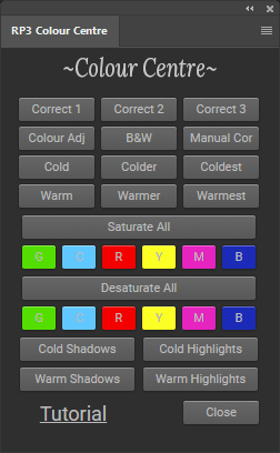 Color Center Panel
