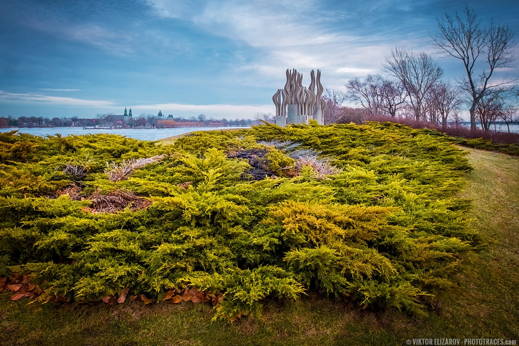 Montreal, Rene Levesque Park - winter landscape photo