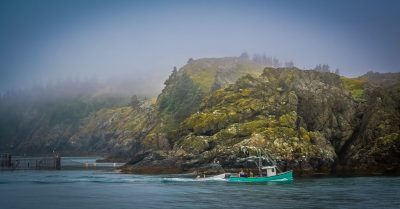 Morning Shift at Grand Manan Island (Canada)