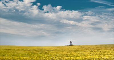 Lighthouse in the Field (Prince Edward Island)