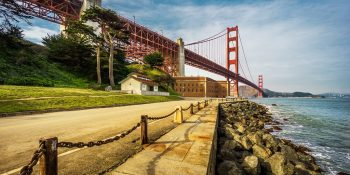 Golden Gate Bridge from Fort Point (San Francisco)