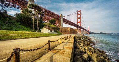 Golden Gate Bridge from Fort Point (San Francisco)