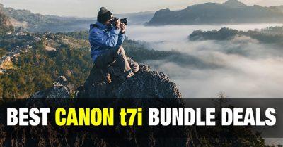 Best Canon t7i Bundle Deals