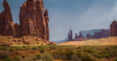 Camel Butte in Monument Valley (Arizona)
