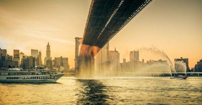 East River Sunset Shower (New York)