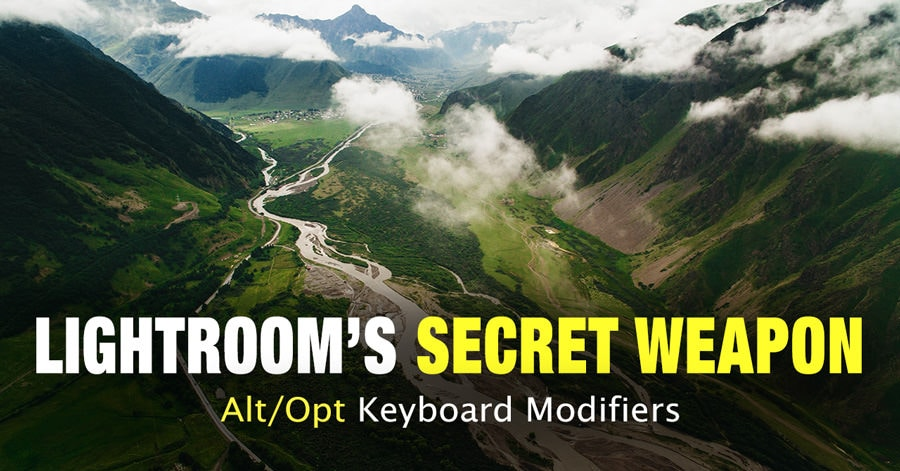 Lightroom's Secret Weapon - Alt/Opt Keyboard Modifiers