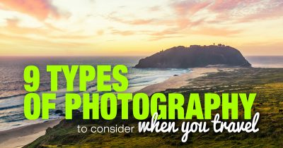 Different photography types