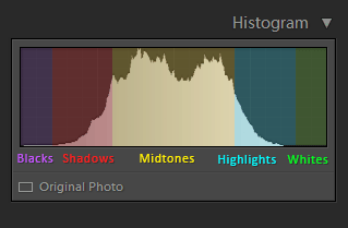 Using Histogram in Lightroom