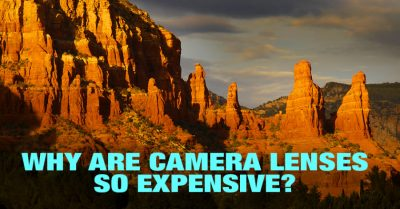 Why camera lenses so expensive?