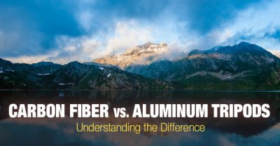 Aluminum vs carbon fiber tripods. Which one is right for you?