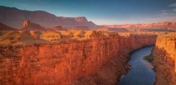 Colorado River and Marble Canyon from Navajo Bridge (Arizona)
