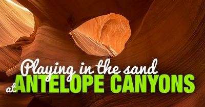 Visiting and Photographing Antelope Canyon