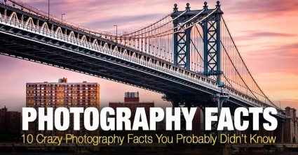 10 Crazy Photography Facts You Probably Didn't Know