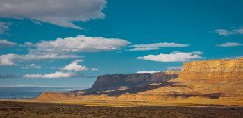 Giant Shadows Over Vermilion Cliffs (Arizona)