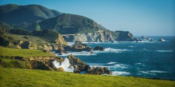 Big Sur in Green Colors (California)