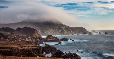 Fog Over Rocky Bridge (California)