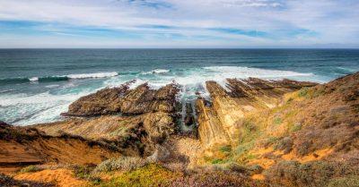 Montana De Oro Shore Rocks (California)