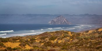 Dunes, Beach and Morro Rock (California)