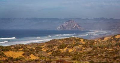 Dunes, Beach and Morro Rock (California)